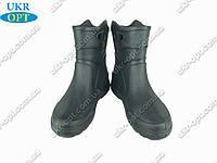 Мужские сапоги (Код: EVA-06 черные)