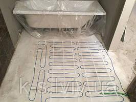 Тепла підлога в плиточний клей, під плитку (ванна)