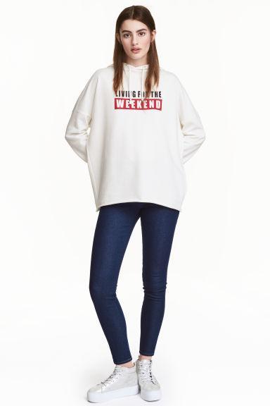Новые синие джинсы H&M