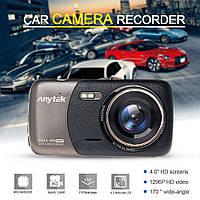 Автомобильный видеорегистратор Anytek B50 (1080p, широкий угол, G-сенсор), фото 1