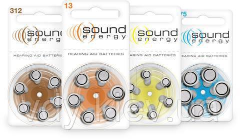 Батарейки для слуховых аппаратов Rayovac Sound Energy 675 MF, 6 шт