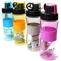 Бутылка для воды ZanNuo 400мл 4 цвета в ассортименте 7616