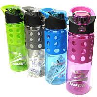 Бутылка для воды ZanNuo 500мл 4 цвета в ассортименте 7519