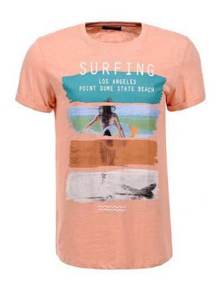 Мужская футболка  GLO-STORY AS18 MPO-5479 Orange , фото 2