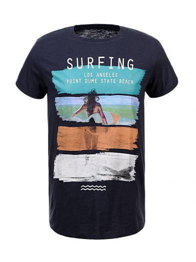 Мужская футболка  GLO-STORY AS18 MPO-5479 Dk.Blue