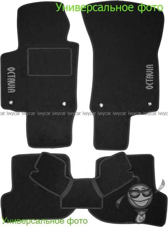 Коврики ворсовые в салон на Suzuki Vitara2015- черные