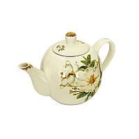 """Заварочный чайник фарфоровый 650 мл """"Белый налив"""" ( чайник )"""