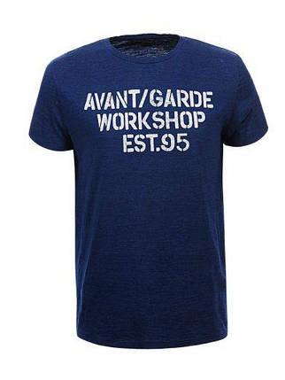 Мужская футболка  GLO-STORY AS18 MPO-5332 Синяя, фото 2
