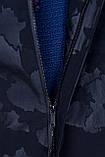 Чоловіча демісезонна куртка (подовжена), чорного кольору, фото 5