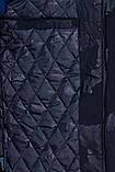 Чоловіча демісезонна куртка (подовжена), чорного кольору, фото 6