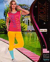 Женский комплект футболка+лосины Турция. MODY 6984. Размер 44-46.
