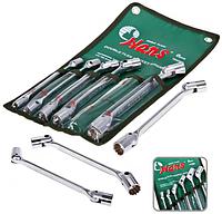 Набор ключей карданных HANS 8-19 мм, 6 предметов (лента)(16406М), фото 1