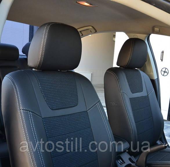 Чехлы на сиденья Mitsubishi Lancer X 2L (2007-2011)