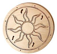 """Щит деревянный викинга """"Солнце"""" 40 см"""
