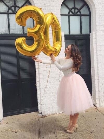 """Фольгированные шары цифры 16"""" (40 см)"""