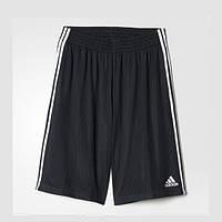 Шорты мужские баскетбольные adidas Bermuda Triple Up AH6442 (черные, полиэстер, с логотипом адидас)