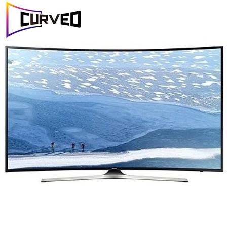 Телевизор Samsung UE49KU6100 (PQI 1400Гц, Ultra HD 4K, Smart, Wi-Fi, изогнутый экран), фото 2