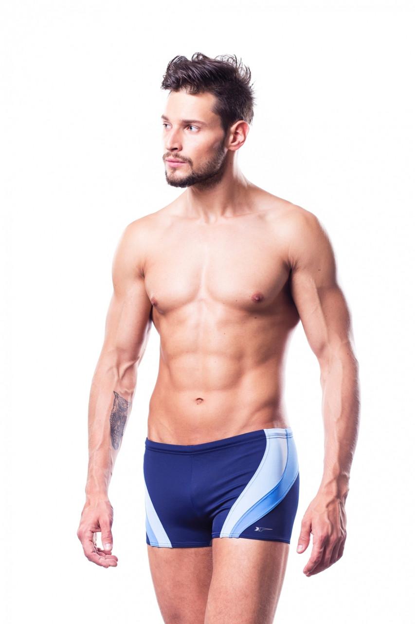 Плавки мужские купальные Shepa 034 (original), трусы-боксеры для бассейна, пляжа SportLavka