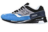 Мужские кроссовки New Balance 1500 Black/Blue
