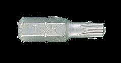 "Бита торцевая 1/4"" TORX с отверстием T25 L=25мм (уп.20)"