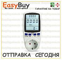 Ваттметр 220v cчётчик электроэнергии энергометр мобильный измеритель мощности ватметр электронный