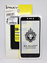 Защитное стекло Ipaky 4D Xiaomi Redmi 4X Black