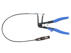 Клещи для хомутов с гибким удлиннителем