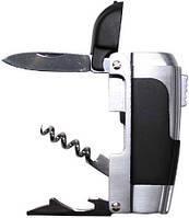"Нож ""Multifunction"" 4х1 зажигалка - нож, открывалка, штопор."