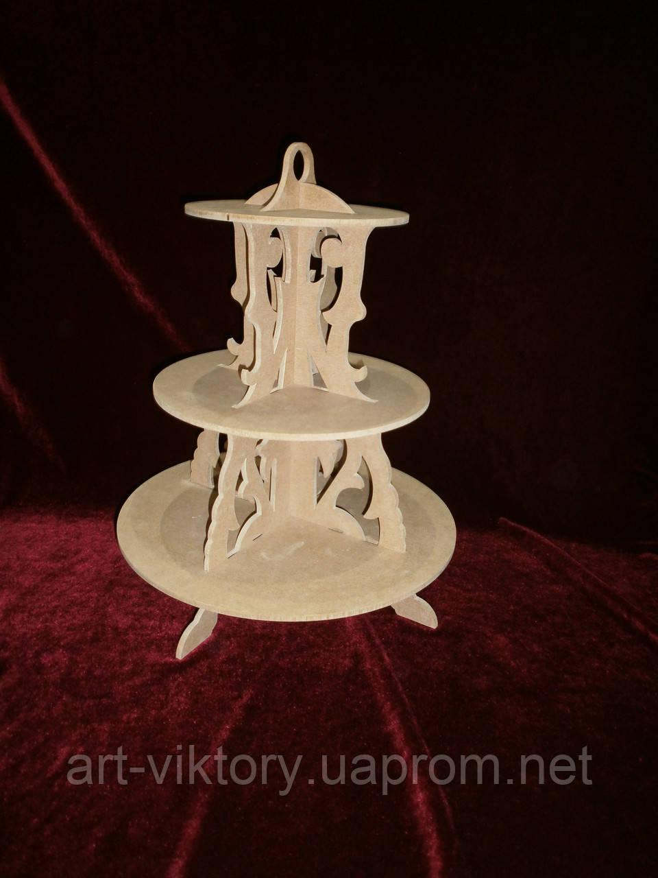 Подставка для кексов (35 х 45 см), декор