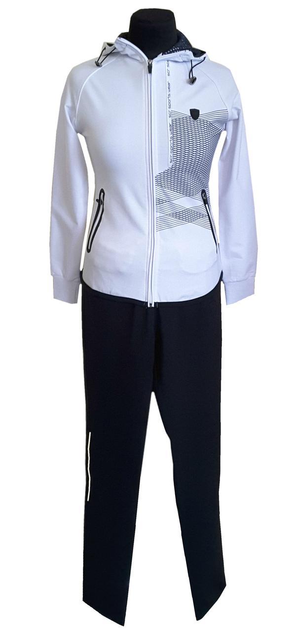 Женский спортивный костюм SOCCER -  21109 белый