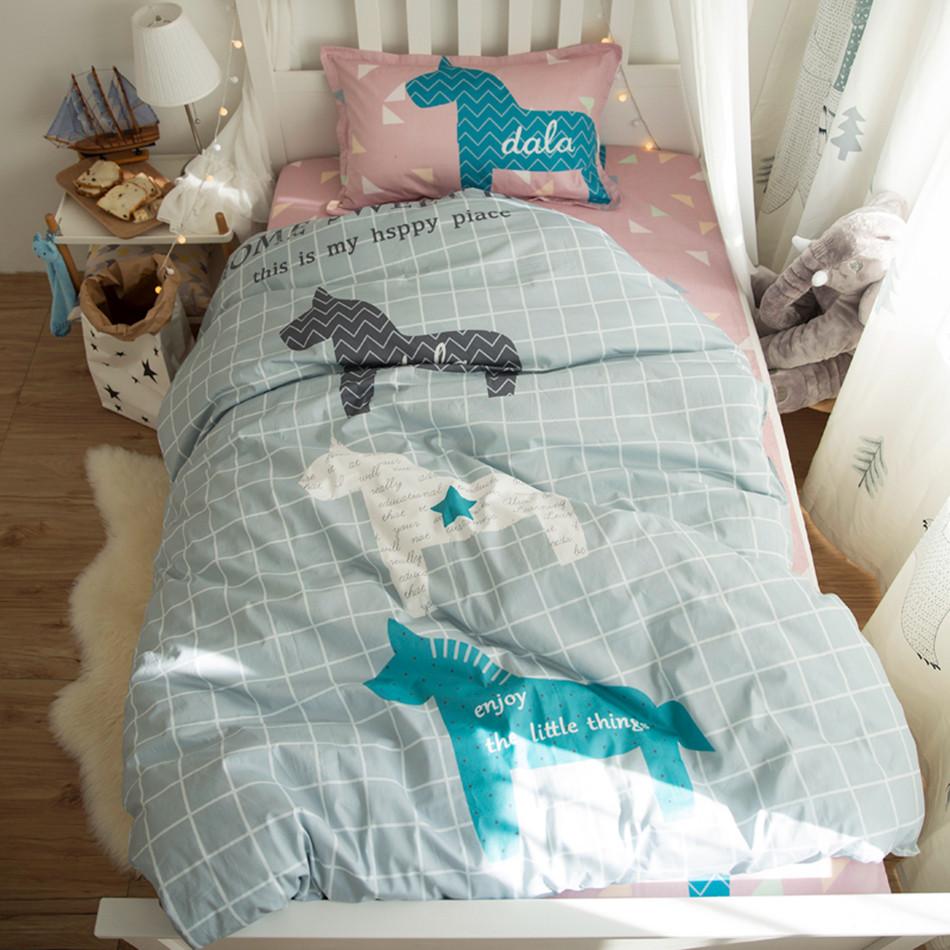 Комплект постельного белья Милый дом (полуторный) Berni Home