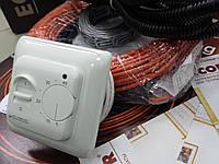 Кабель нагревательный (Чехия) для дачи, 8,3 м.кв. (Акционная цена с механическим регулятором)