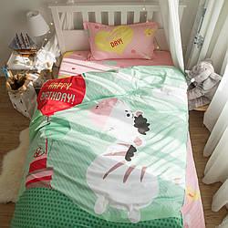 Комплект постельного белья С днем рождения, Зебра! (полуторный) Berni Home
