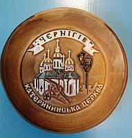 Тарелка с видом Чернигова