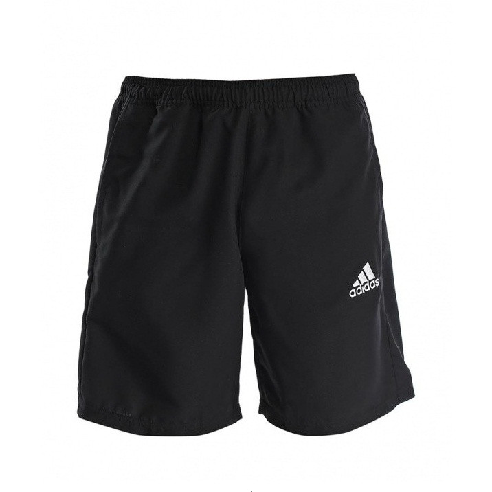 Шорты спортивные мужские adidas Coref WOV Sho M35338 (черные, полиэстер, для тренировок, с логотипом адидас)