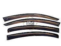 "Дефлекторы окон Mazda 3 I Sd 2003-2008 Cobra Tuning - Ветровики ""CT"" Мазда 3 1 седан 2003-2008 (на скотче)"