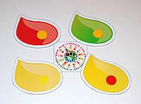Магнитный стенд для крепления рисунка Капли краски