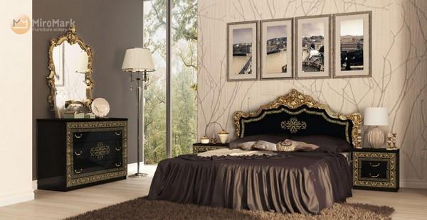Спальня Дженифер чорная