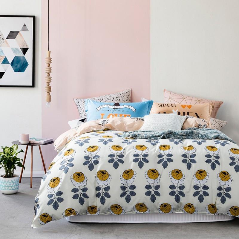 Комплект постельного белья Розовый сад (двуспальный-евро) Berni Home