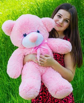 """Плюшевый мишка """"Рафаэль"""", розовый, 80 см."""