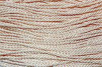 Канат декоративный 3мм тейлон (50м) бежевый