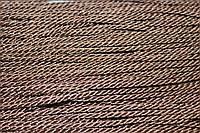 Канат декоративный 3мм тейлон (50м) св.шоколад