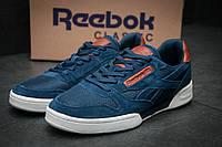 Кроссовки мужские Reebok Classic NPC, темно-синие (11634),  [   44  ]