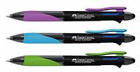 Механический карандаш0,7 - синяя ручка - красная ручка - стилус( 4 в 1 )