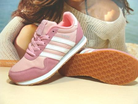 Женские кроссовки Adidas Haven (реплика) розовые 36 р.