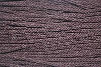 Канат декоративный акрил 2 мм (100м) т. коричневый