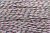 Канат декоративный акрил 5мм (50м) рябой (розовый)