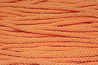 Канат декоративный акрил 8мм (50м) оранжевый, фото 1