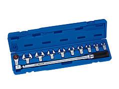 Ключ динамометрический в наборе со сменными насадками 40-200НМ