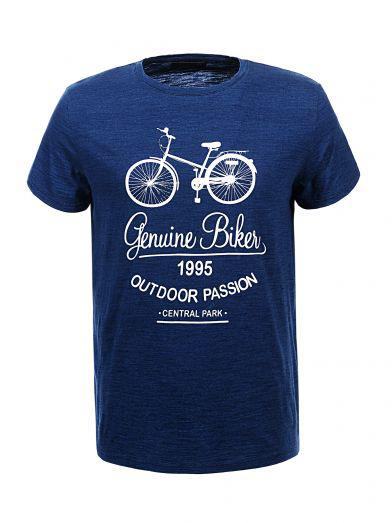 Мужская футболка  GLO-STORY AS18 MPO-5336 Blue Синяя